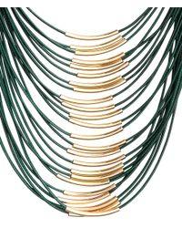 H&M | Blue Necklace | Lyst