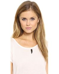 Ginette NY | Pink Satisfaction Horn Necklace | Lyst