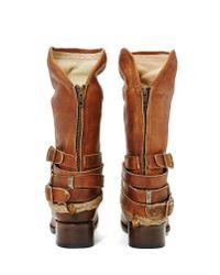 Nasty Gal - Brown Freebird Western World Boot - Lyst