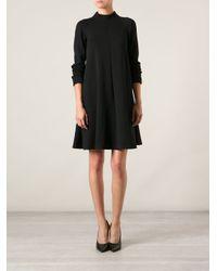 M Missoni - Black High Neck Dress - Lyst