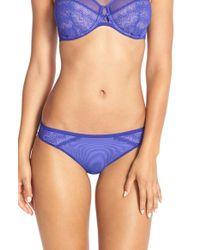 Chantelle | Blue 'revele Moi' Bikini | Lyst