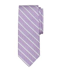 Brooks Brothers - Purple Sidewheeler Stripe Tie for Men - Lyst
