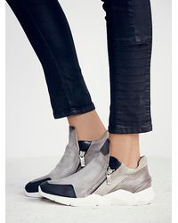 Free People | Metallic Bertie Sneaker | Lyst