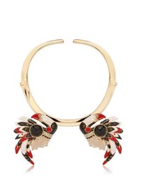 Schield | Metallic Indian Necklace | Lyst