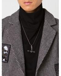 KTZ | Metallic Arm And Arrow Necklace for Men | Lyst