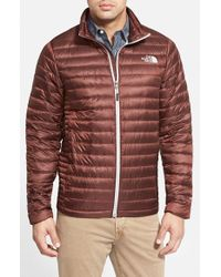 The North Face - Brown 'Tonnerro' Compressible Down Puffer Jacket for Men - Lyst