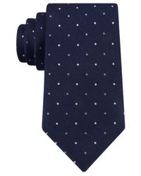 Tommy Hilfiger | Blue Multi-dot Tie for Men | Lyst