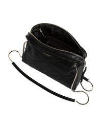 Lanvin - Black Blush Quilted Leather Shoulder Bag - Lyst