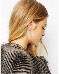 ASOS | Metallic Single Hanging Shard Ear Cuff | Lyst