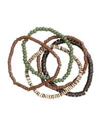 H&M - Green 5-pack Bracelets for Men - Lyst