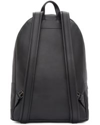 PB 0110 | Black Leather Backpack | Lyst