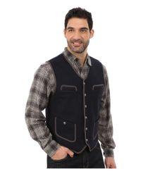Woolrich | Blue Utility 12 Vest for Men | Lyst