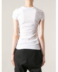 Stella McCartney | White Polar Bear Print T-shirt | Lyst