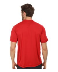 The North Face - Red Short Sleeve Horizon Crew - Lyst