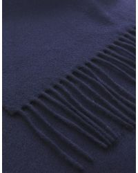 Jules B - Blue Classic Cashmere Scarf for Men - Lyst