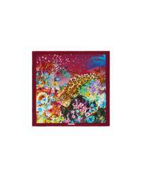 Ferragamo | Multicolor Isidoro Square Scarf | Lyst