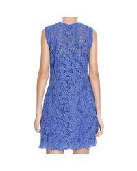 Ermanno Scervino - Blue Dress - Lyst