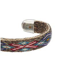 Chamula | Gray Bentable Bracelet for Men | Lyst