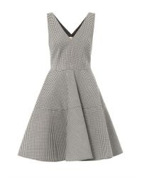 N°21 | Black Gingham Dress | Lyst