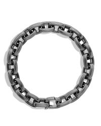 David Yurman | Metallic Royal Cord Small Link Bracelet for Men | Lyst