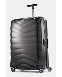 Samsonite | Black 'firelite' Rolling Suitcase for Men | Lyst