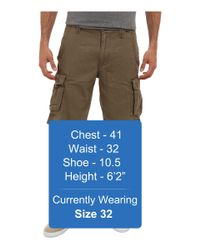 Hurley - Green One Only Cargo Walk Short for Men - Lyst