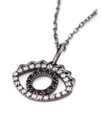 KENZO | Metallic 'Eye' Necklace | Lyst