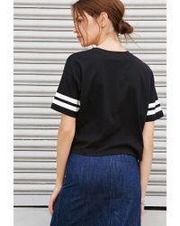 Forever 21 | Black Cool 83 Graphic Top You've Been Added To The Waitlist | Lyst