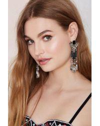 Nasty Gal | Metallic Canyon Call Beaded Earrings | Lyst