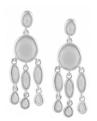 Karen Kane | Metallic Baja Chandelier Earrings | Lyst