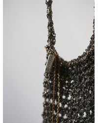 Free People | Metallic Crochet Chain Medicine Bag | Lyst