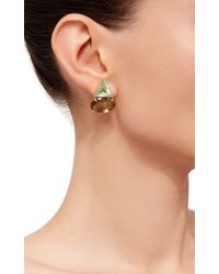 Bounkit | Convertible Blue Quartz And Wood Earrings | Lyst