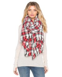 Maison Scotch - Checkered Scarf - Lyst