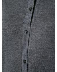 Marni - Gray Buttoned Cardigan - Lyst