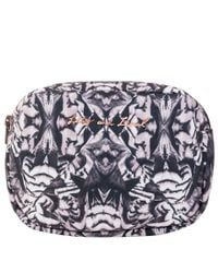 Lily and Lionel - Gray Mid Grey Colette Makeup Bag - Lyst