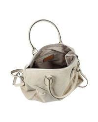 Jean Louis Scherrer - Natural Large Leather Bag - Lyst