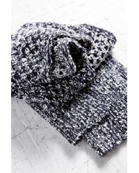 Urban Outfitters - Gray Open Lattice Knit Scarf - Lyst