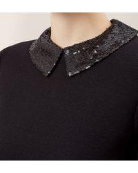 Hobbs - Black Evie Dress - Lyst