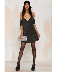 Nasty Gal | Black Don't Mean A Thing Swing Dress | Lyst