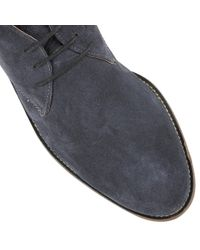 Lotus - Blue Wedbury Lace Up Casual Desert Boots for Men - Lyst