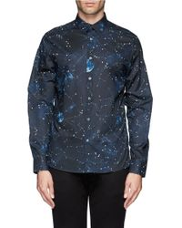 PS by Paul Smith - Multicolor Astrology Print Shirt for Men - Lyst