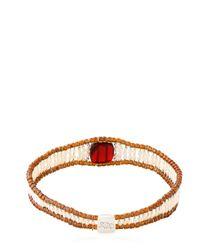 Ziio - Red Armonia Bracelet - Lyst