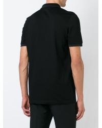 Ferragamo | Black Classic Polo Shirt for Men | Lyst
