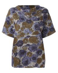 Erika Cavallini Semi Couture - Multicolor 'Filippa' Sweatshirt Top - Lyst