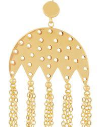 Arme De L'Amour | Metallic Gold-plated Earrings | Lyst