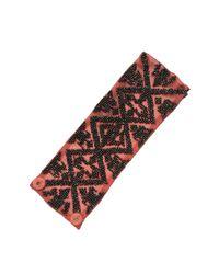 Mignonne Gavigan | Metallic Ikat Bracelet Coral / Gunmetal | Lyst