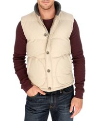 Lucky Brand | Natural Workwear Puffer Vest for Men | Lyst