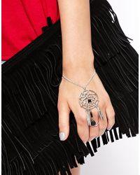 ASOS - Metallic Dreamcatcher Hand Harness - Lyst
