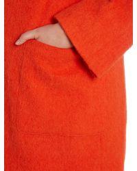 Persona - Pink Oversize Pocket Wool Coat - Lyst