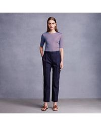Trademark | Blue Katira Pleat Pant | Lyst